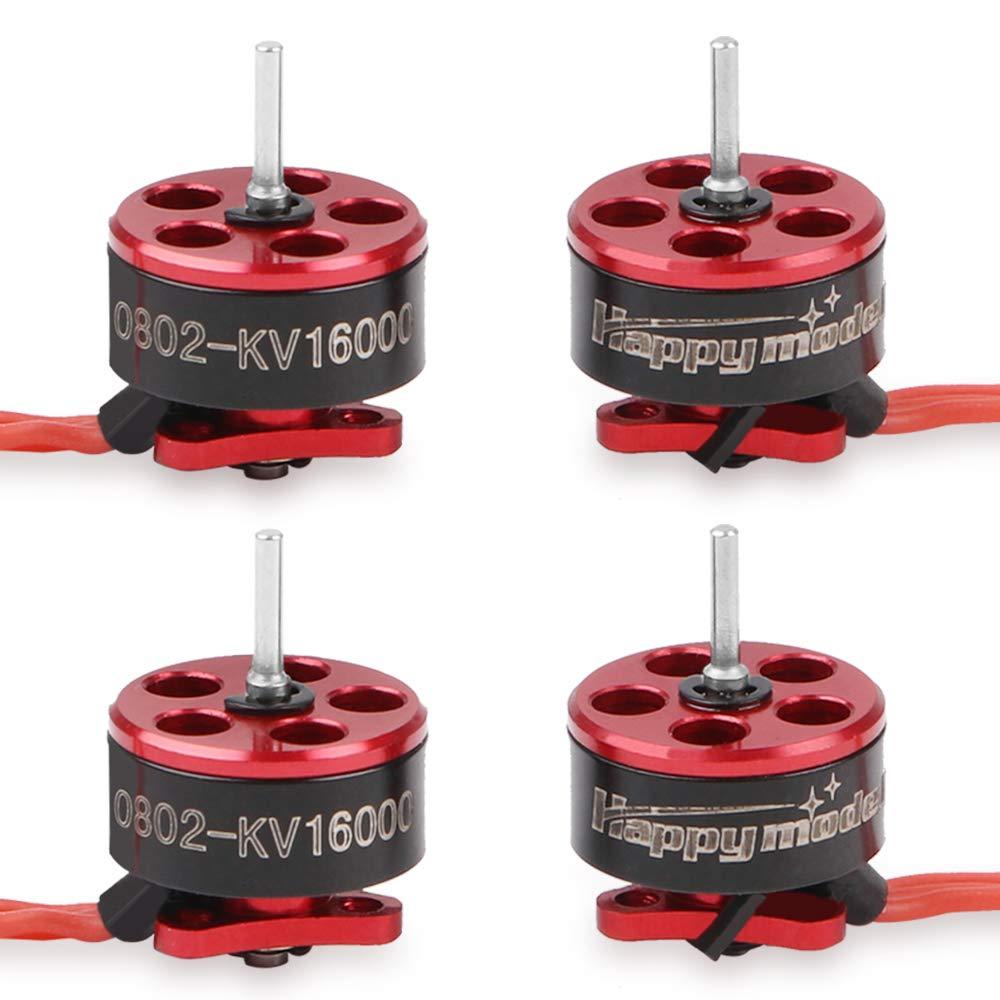 4pcs 0802 16000KV Brushless Motors 1-2S SE0802 Micro Drone Motor for Micro FPV Racing Drone Like Mobula7 Snapper7 RC Drone
