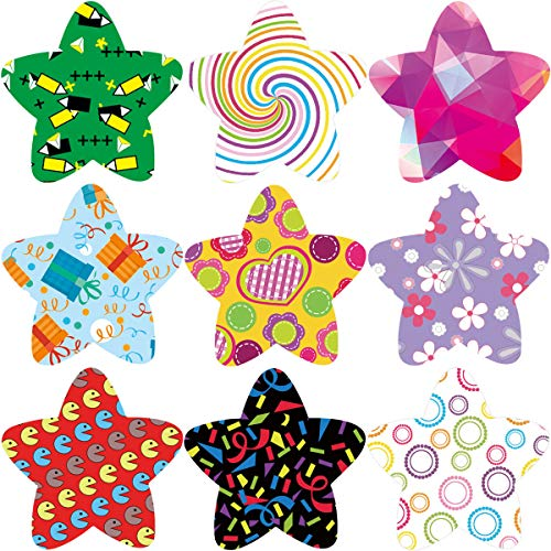 ceiba tree Star Stickers 200Pcs Roll Sticker Perforation Line Design for Halloween Party School Reward Sticker ()