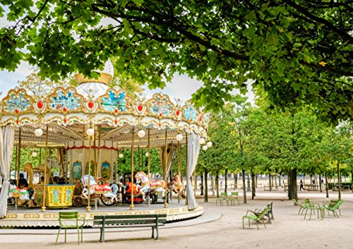 Paris, France Tuileries Garden Carousel Original Fine Art Photography Wall Art Photo Print Large Wall Art Living Room Wall Art Bedroom Wall Art Nursery (Carousel Wall Art)