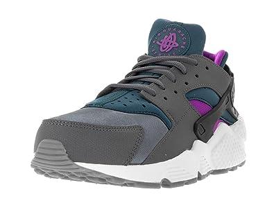 new styles f72e0 1413e Nike WMNS Air Huarache Run, Chaussures de Sport Femme, Gris (Dark Grey/