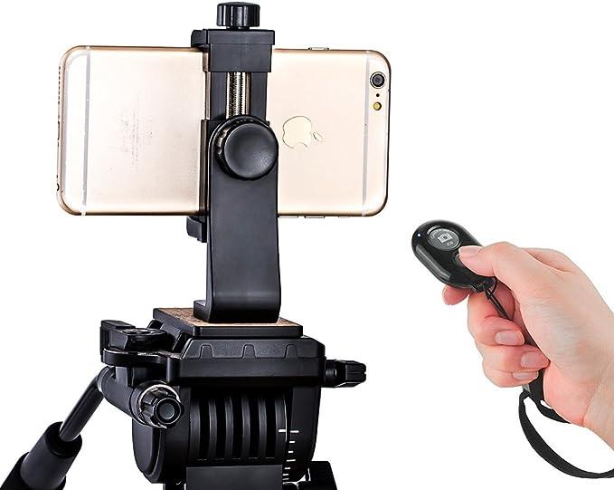 Zeadio Smartphone trípode Adaptador, Soporte de teléfono Celular ...