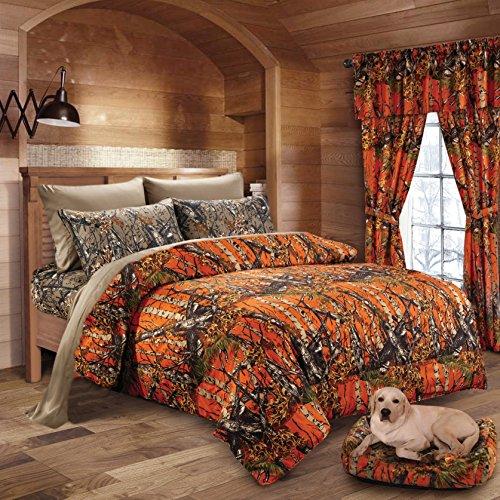 20 Lakes Woodland Hunter Camo Comforter, Sheet, Pillowcase S