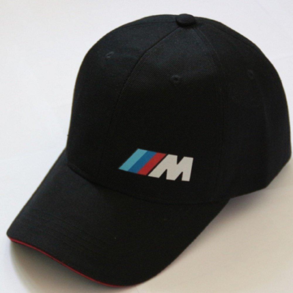 Algodón Negro M Logo, Rendimiento Coche/Motores BMW Sport Gorra de béisbol, diseño: Amazon.es: Deportes y aire libre