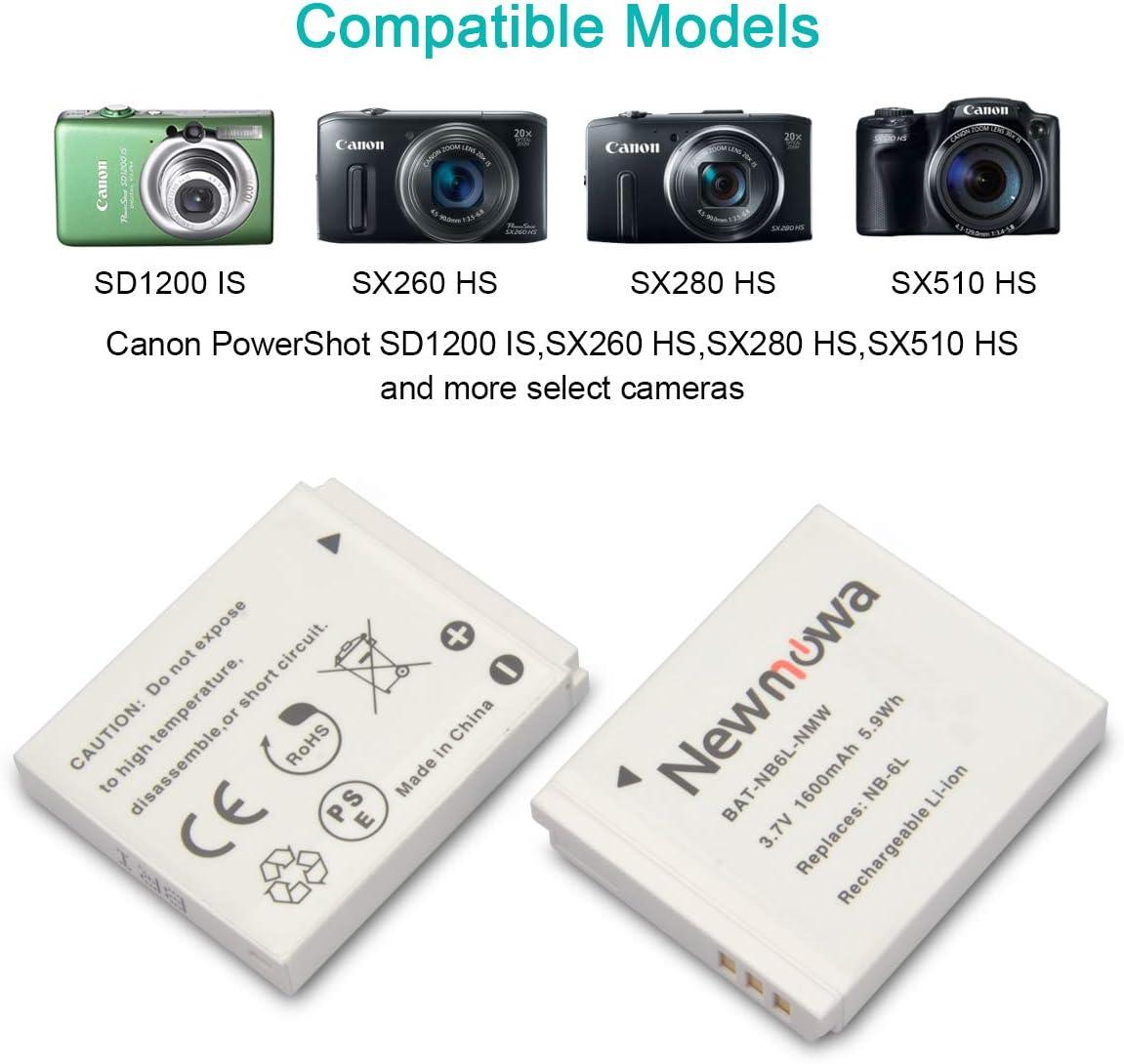 Power batería Li-ion 1000mah para Canon PowerShot d10