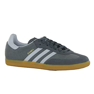 adidas samba suede trainers size 9 for men
