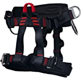 Ingenuity Climbing Harness Professional Mountaineering Rock Climbing Harness,Rappelling Safety Harness - Work Safety Belt