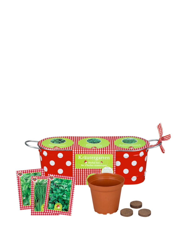 Garden Happy Polka Herb Garden 31.5 x 10.5 cm Model# 10176