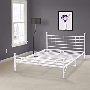 Best Price Mattress Model H Easy Set-up Steel Bed Frame