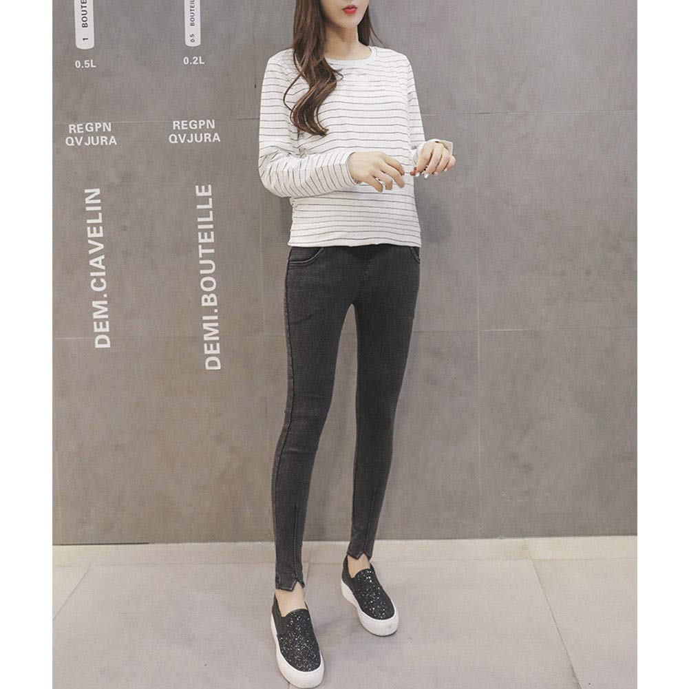 Lady High Waist Pants Cotton Xinvision Women Maternity Pregnant Elasticity Yoga Trousers