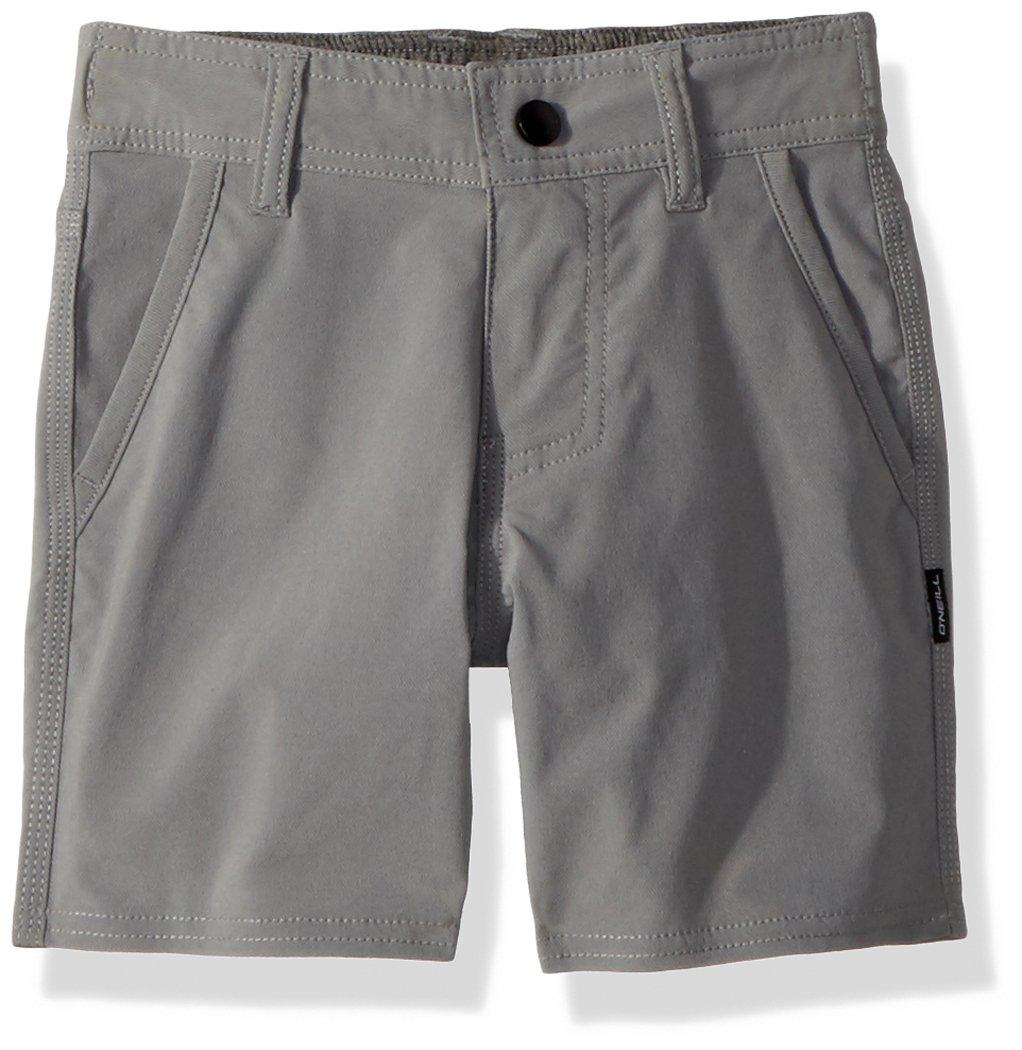 O'Neill Little Boys' Stockton Hybrid Boardshort, Grey, 3T