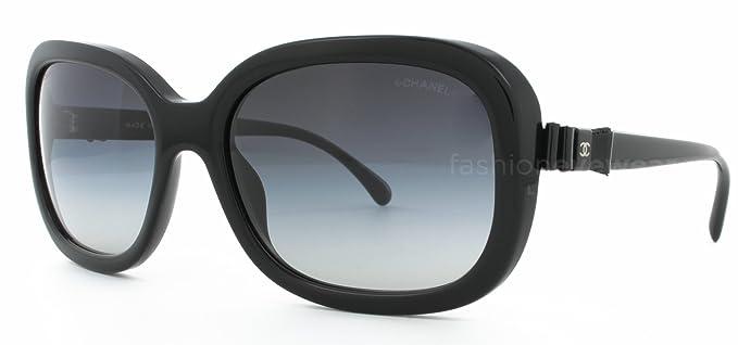 39c7e2c724f Chanel 5280Q C501 S6 Black Grey Gradient  Amazon.co.uk  Clothing
