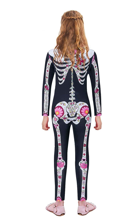 Amazon.com: UNICOMIDEA Disfraz de Halloween para niñas, mono ...