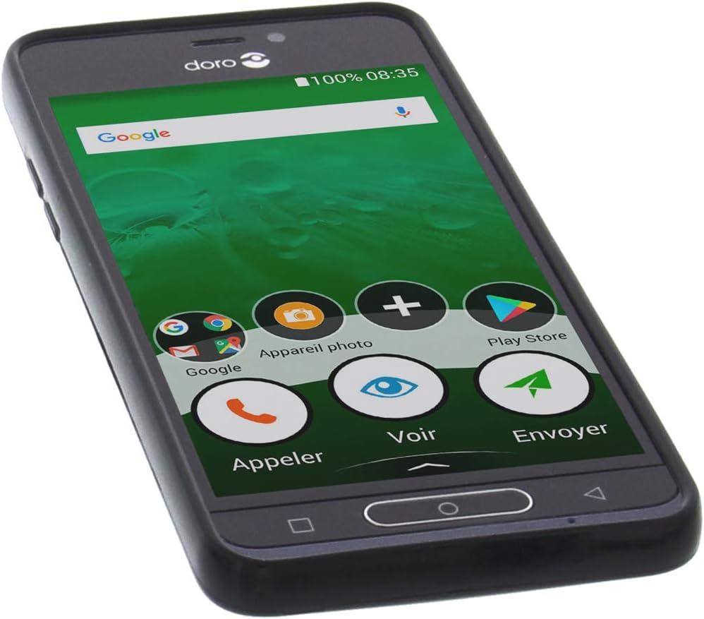 foto-kontor Funda para Doro 8035 Protectora de Goma TPU para móvil ...