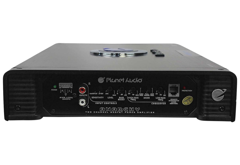 Planet Audio Ac26002 2600 Watt 2 Channel Car Power Collection Scheme Amplifier High Mosfets W 4 Gauge Amp Kit Electronics
