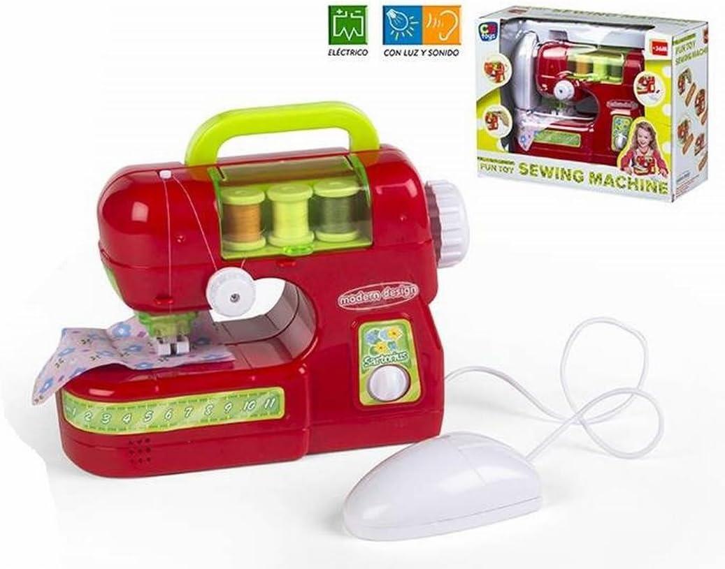 Color Baby- Máquina de Coser, Color Rojo (42940): Amazon.es ...
