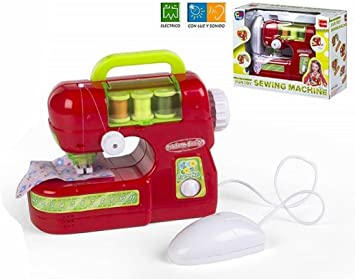 Color Baby- Máquina de Coser, Color Rojo (42940): Amazon.es ...