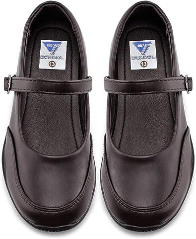 Amazon.com | JABASIC Girls School Shoes