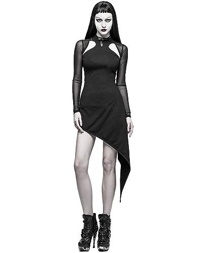 Punk Rave -  Vestito  - Maniche lunghe  - Donna