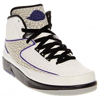 super popular 7bf09 c53cb ... canada nike air jordan 2 retro bg hi top trainers 395718 sneakers shoes  uk 4.5 us ...