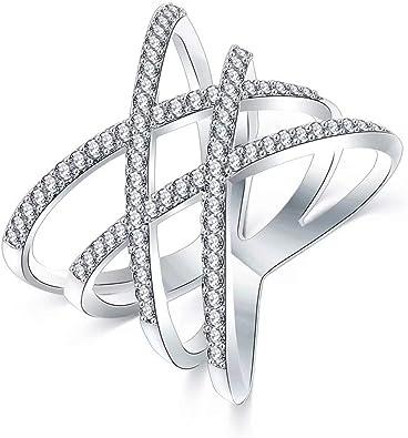 Sterling silver 925 gold plaque pave cz parallèle barre ajustable collier boîte cadeau