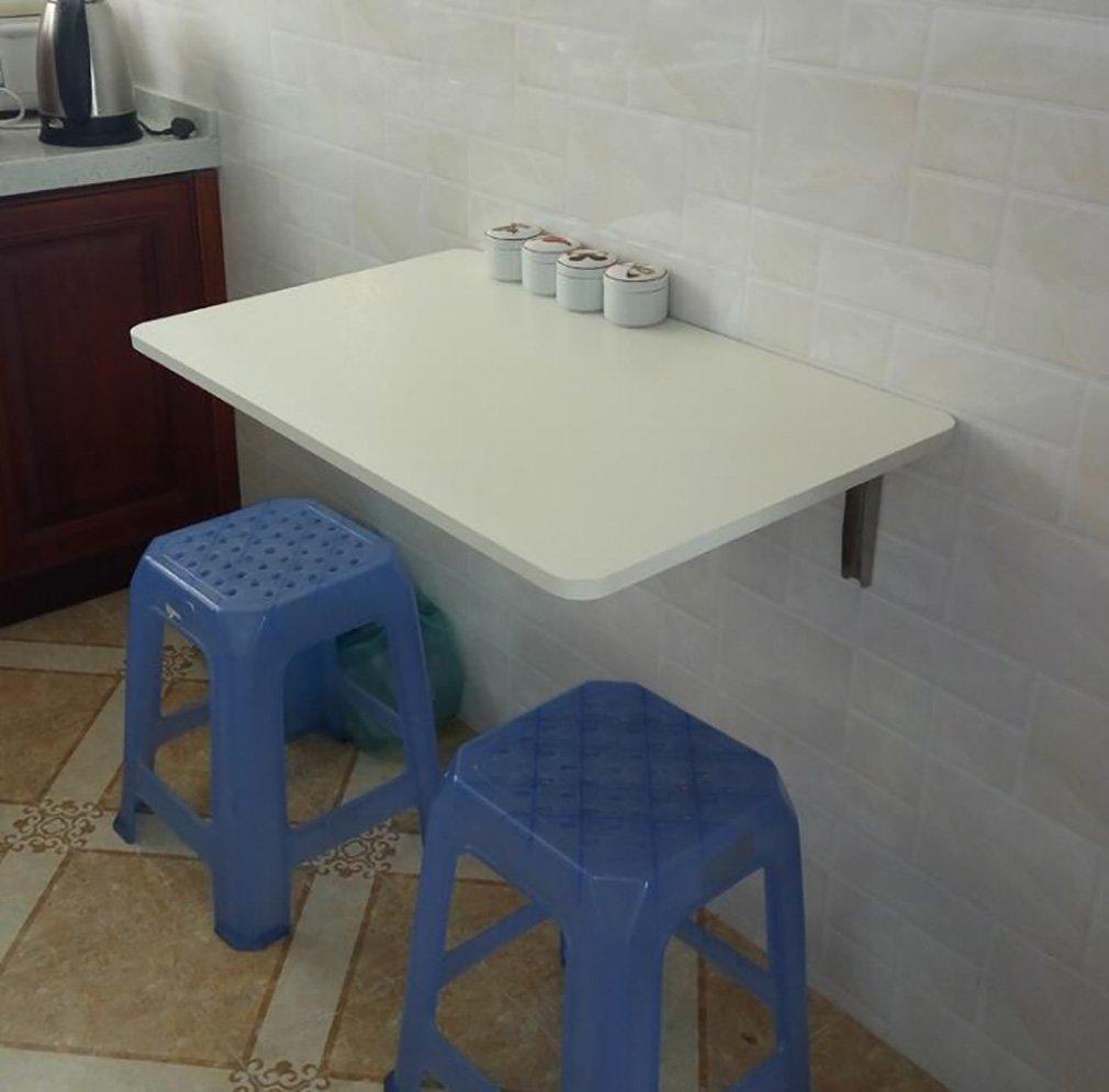 Table pliante murale Table d'appoint murale Table d'appoint de cuisine Table d'ordinateur blanc ( taille : 90*40cm