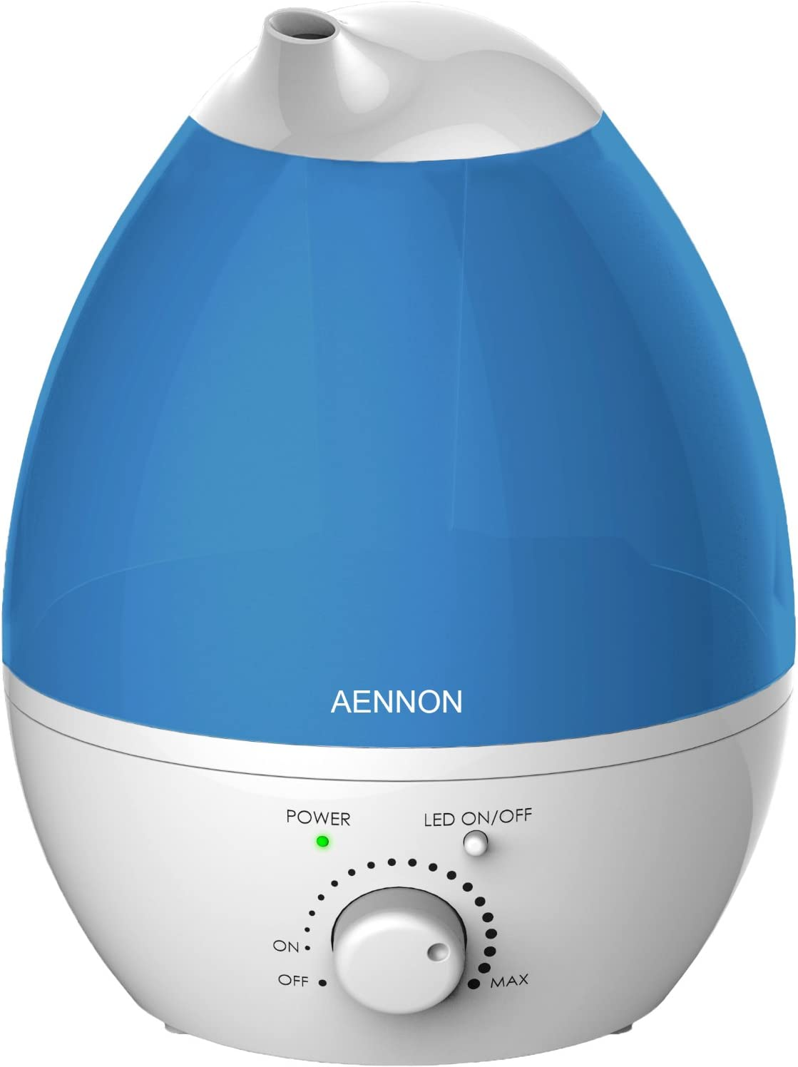 0.2 Gal. Personal Ultrasonic Cool Mist Humidifier for Small Rooms
