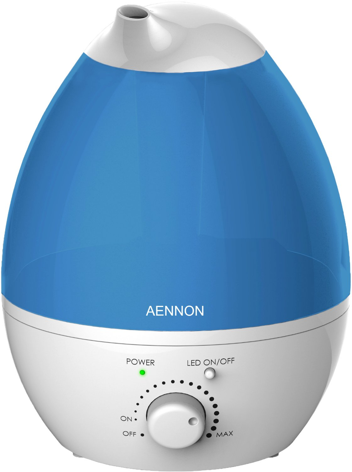 Cool Mist Ultrasonic Humidifier, Whisper-Quiet With 7 Color LED Lights