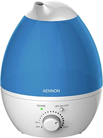 Amazon.com: Cool Mist Humidifier, Whisper-Quit with 7 Color LED ...