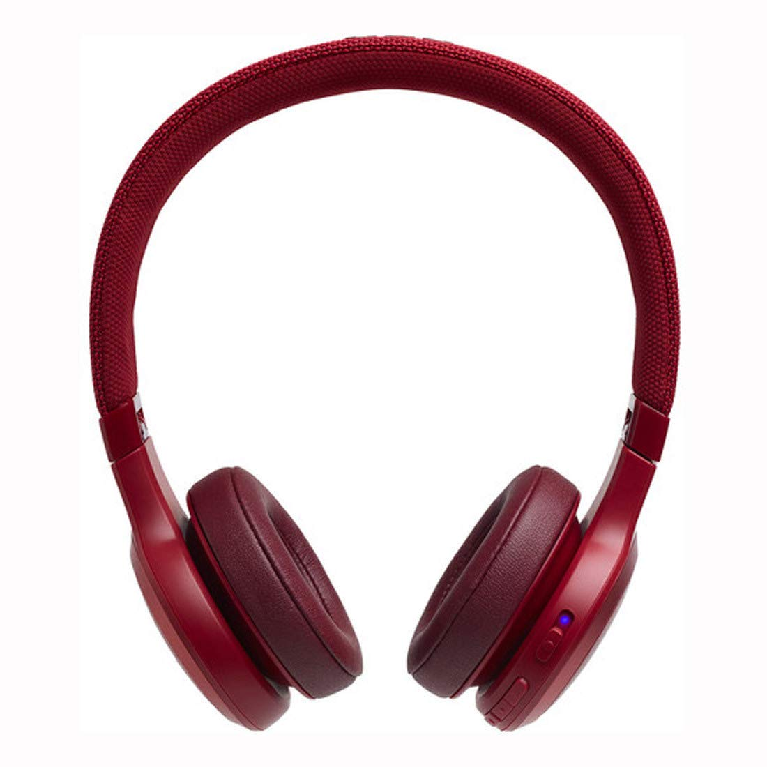 JBL Live 400BT Wireless On-Ear Voice Enabled Headphones with Alexa (Red) (K951845)