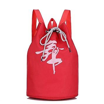 Sencillez Kids Girls Ballet Dance Bag Drawstring Mochila Ballerina Dancing Bag Children Princesa Dance Bag Bolsa de Hombro para Bailarinas Bailarina Mochila ...