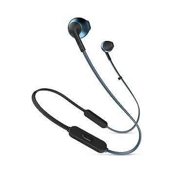 d0fbfa6c106 JBL Tune 205BT Wireless Earbud headphones - Blue: Amazon.co.uk ...