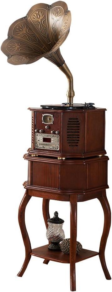 Sitang Hierro de época tocadiscos antiguo gramófono retro MLG662A ...
