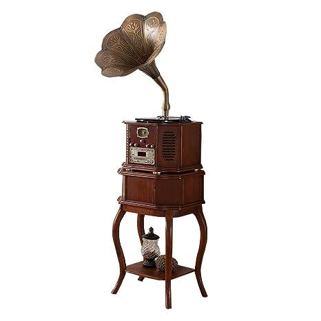 Sitang Hierro de época tocadiscos antiguo gramófono retro ...
