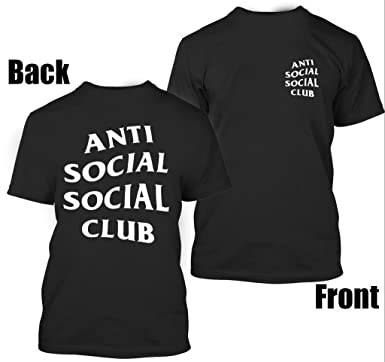 Antisocial Social Club Unisex T Shirt Amazonca Clothing Accessories