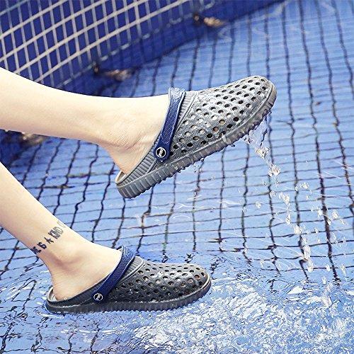 estate sandali Ragazzi giovanile scarpa Buco scarpa sandali Spiaggia scarpa alunno sandali tendenza estate ,grigio,US=7.5,UK=7,EU=40 2/3,CN=41