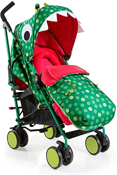 Cosatto Supa 2018 Baby Stroller Dino Mighty Suitable from Birth to 25 kg