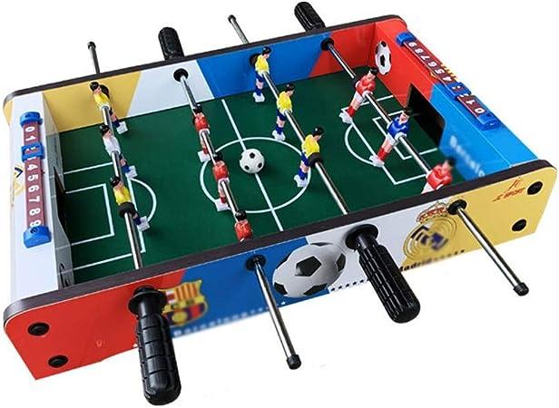 WNN-URG Máquina de fútbol de la Tabla Multifuncional niños Mesa de futbolín en Mesa- portátil Mini Futbolín Juego de fútbol Conjunto URG: Amazon.es: Hogar