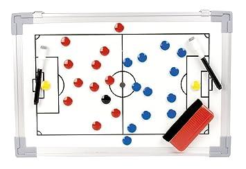 b+d pizarra táctica magnética de fútbol incl. imanes