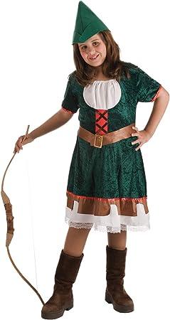 Disfraz de Robin Hood para niña: Amazon.es: Juguetes y juegos