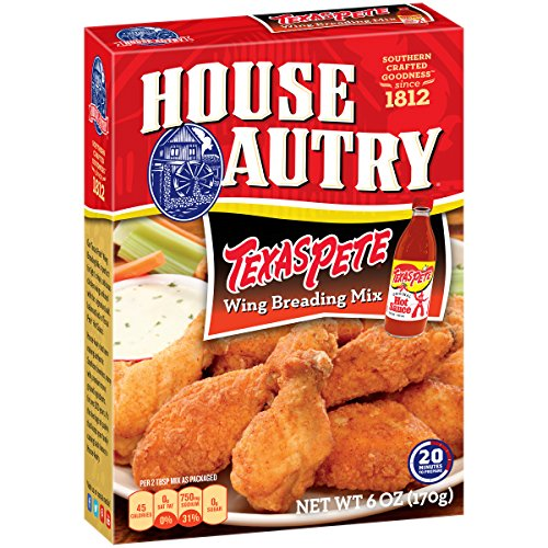 House-Autry Texas Pete Wing Breader (8 PACK)