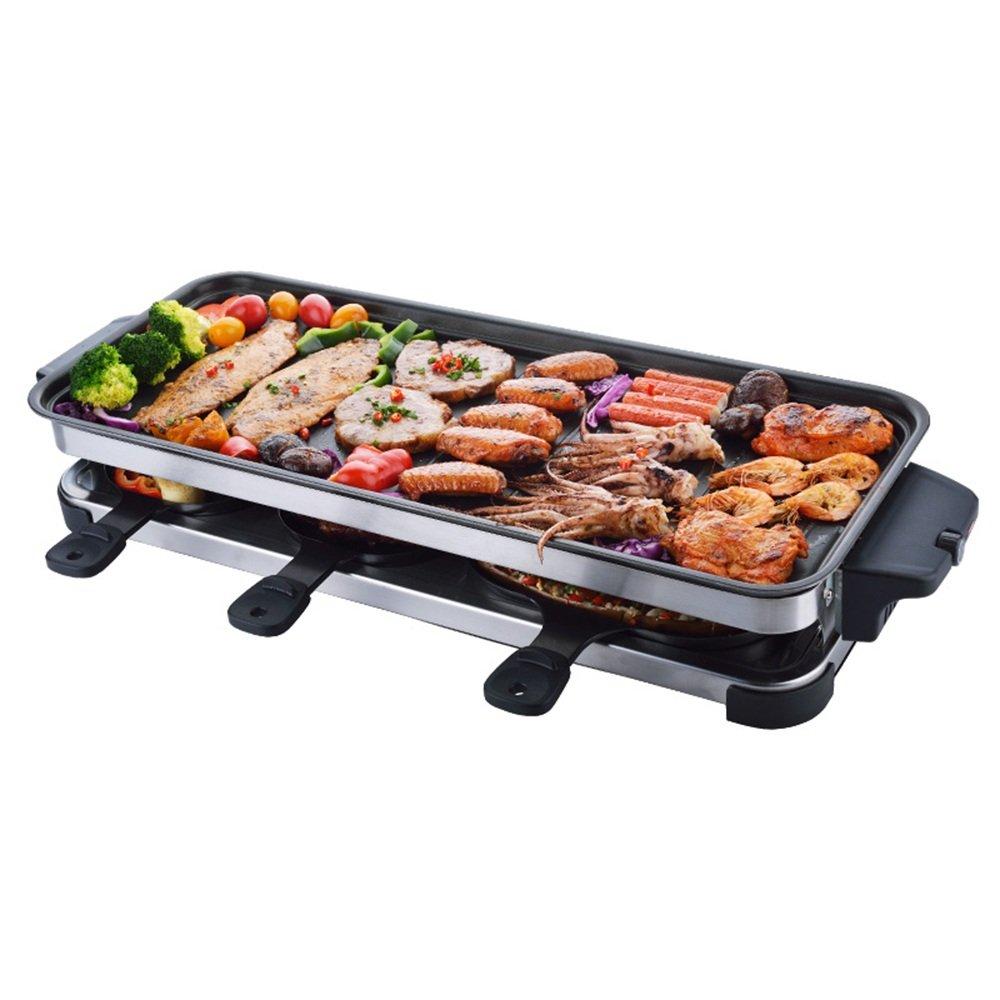 Huifang grills QFFL dainkaolu Barbecue Ofen King Größe Rauchfreien Grill Haushalt Elektrische Grill Elektrische Auflaufform Barbecue Pot Barbecue Herd