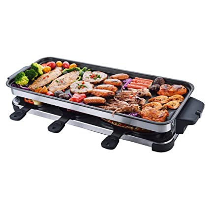 Huifang Barbacoas Barbacoa Estufa King Size Smokeless Barbecue Household Electric Grill Plato eléctrico para Hornear Barbecue