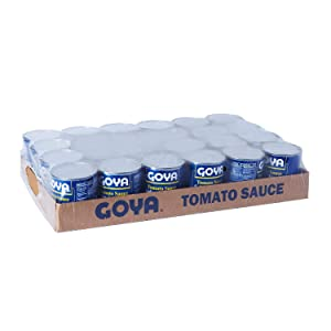 Goya Tomato Sauce 8 Oz Can - (Pack of 6)