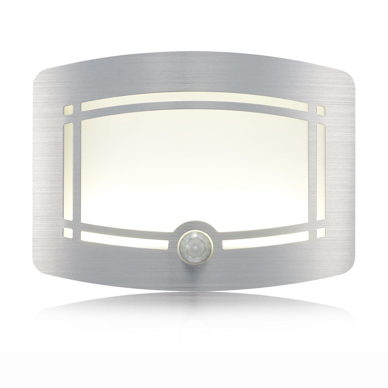 Wireless Motion Sensing Lights Warm Led Wall Light Aluminum Stick