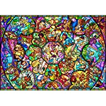 Disney - 2000pcs Jigsaw Puzzle [All-star Stained Glass] (japan import)