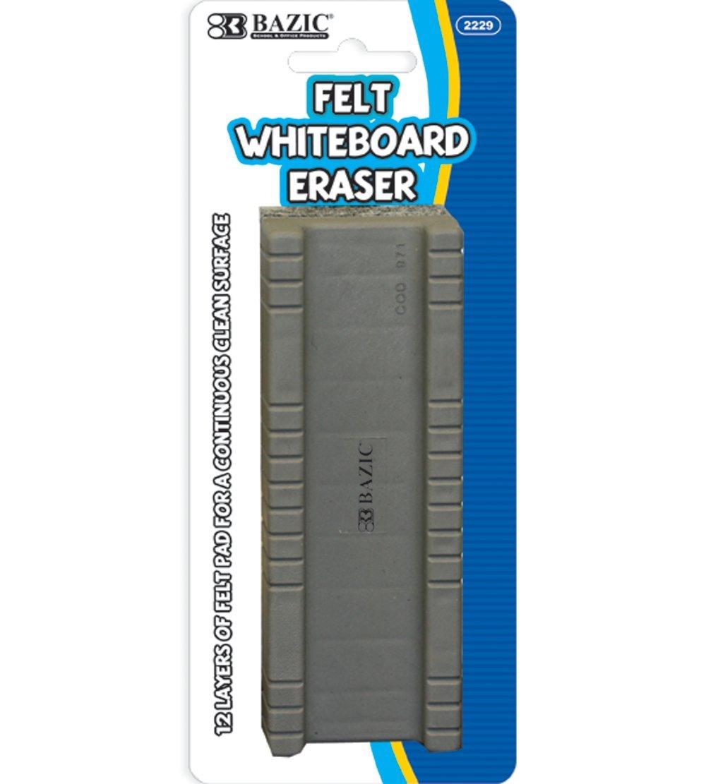 BAZIC Peel-Away Whiteboard Eraser (Case of 144)