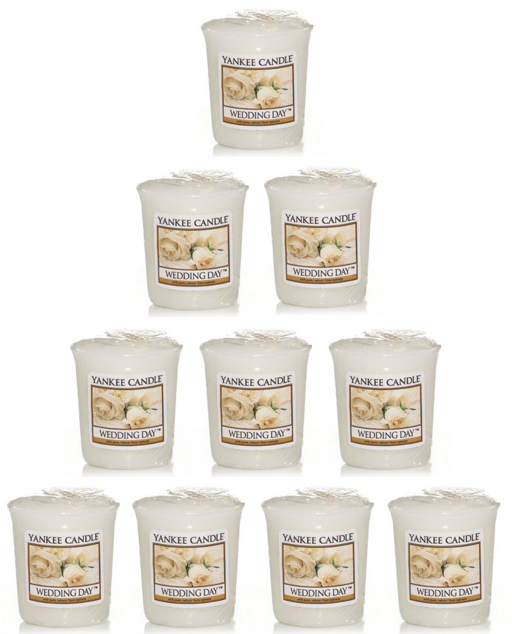 Yankee Candle - 10 Wedding Day Votive Samplers: Amazon.co.uk ...