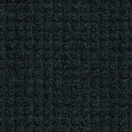 Andersen 385 Charcoal Nylon Brush Hog Plus Entrance Mat, 6' Length x 4' Width, For Indoor
