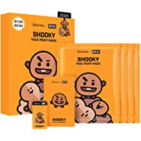 Mediheal - BT21 Face Point Mask BTS colaboration character (20ml x 4 sheets (Face Mask)) + Free Gift by WhoseGoods (#Shooky)