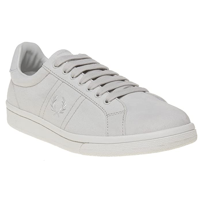 Fred Perry Brushed Cotton Court Fille Baskets Mode Rose